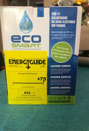 Eco smart tankless water heater for Sale in Avondale, AZ