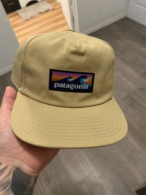 Patagonia Snap Back Hat. Beige. Brown. Snap. for Sale in Hacienda Heights, CA