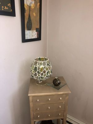 Stained glass candle holder for Sale in New Cumberland, PA