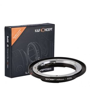 K&F CONCEPT Nikon to Canon lens Adapter - NIKKOR - EOS - Brand new - photography - video for Sale in West Covina, CA