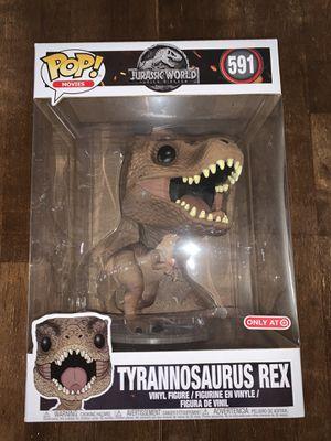 Jurassic World Funko Pop Tyrannosaurus Rex T Rex 10 Inch #591 Target Exclusive NEW for Sale in Miami, FL