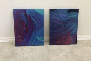 11x14 matching abstract wall art for Sale in Crowley, TX