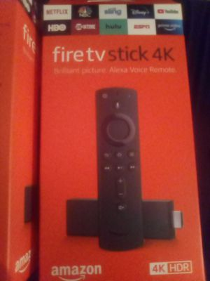 4K Fire stick TV } Live TV •Movies • Shows • PPV •Sports • Etc for Sale in Arlington, TX