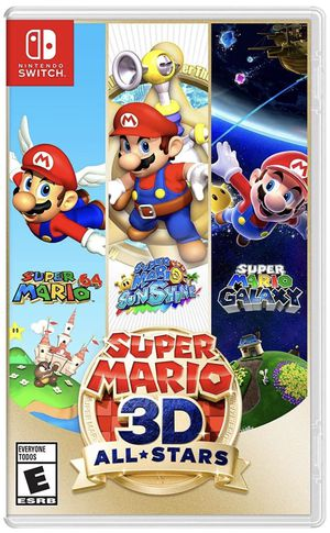 Super Mario 3D All Stars - Nintendo Switch for Sale in Arlington, VA