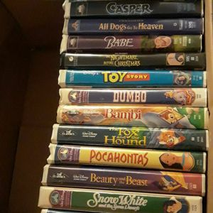 Classic Disney VHS Tapes Disney Classic Childrens Movies ~Price Reduced for Sale in East Norwich, NY