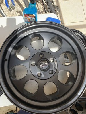 (5) Mickey Thompson limited edition 17 inch rims for Sale in Pompano Beach, FL