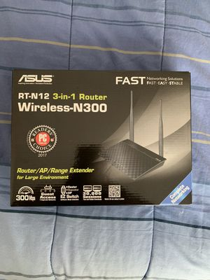 Asus RT-N12 Wireless Router for Sale in Durham, NC