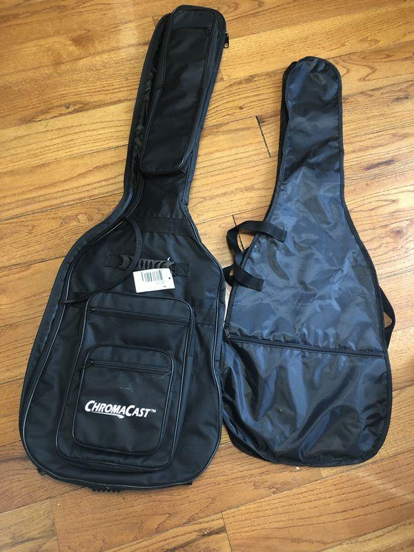 Guitar Bag and Bass Bag (w/ capo and picks)
