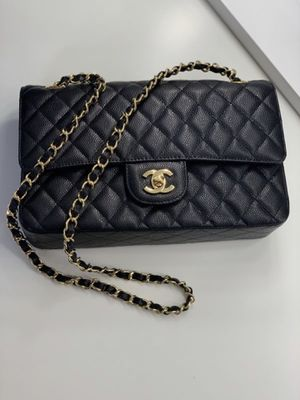 Chanel Vintage Classic Double Flap Bag Quilted Lambskin Medium for Sale in Queens, NY