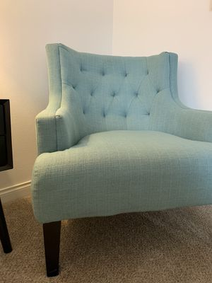 Blue chair, Blue side chair, Blue occasional chair for Sale in CA, US