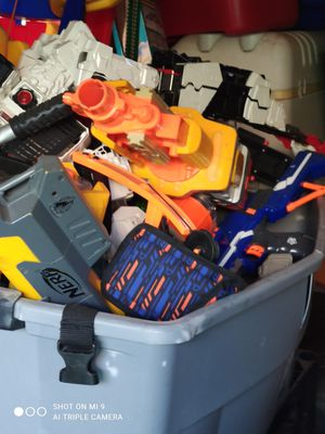 A bunch of Nerf guns for Sale in Tracy, CA