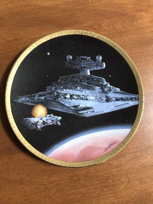 Star Wars Collectors Plate for Sale in Middletown, CT