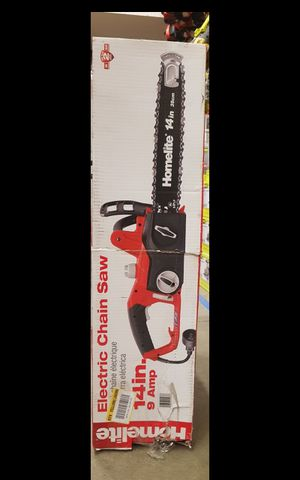 "HOMELITE CORDED 14""IN CHAINSAW for Sale in San Bernardino, CA"