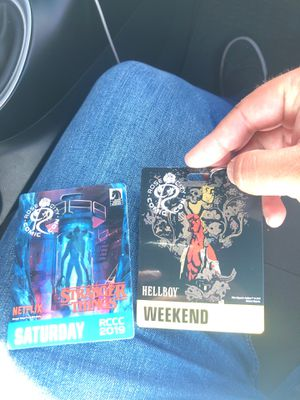 Two passes for comic con for Sale in Portland, OR