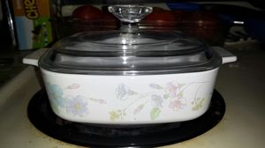 Corningware Pastel Bouquet dish for Sale in Indianapolis, IN
