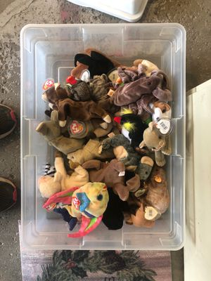 Beanie Babies box full for Sale in Mentor, OH