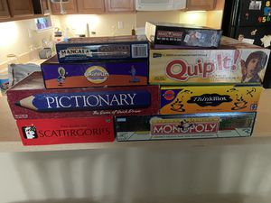 Board games for Sale in Mountain House, CA