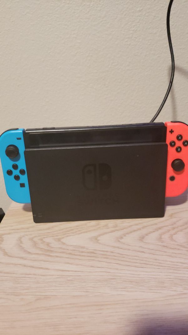 Nintendo Switch with 3 games and Accessories