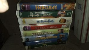 Walt Disney Original VHS Tapes Excellent Condition Lot of 8 for Sale in Granite City, IL