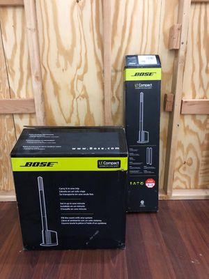 (Open Box) Bose L1 Compact Line Array PA Speaker and Mixer System for Sale in Jersey City, NJ