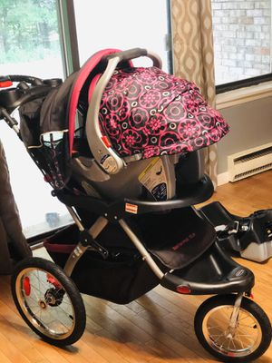 Baby car seat plus stroller, only $50 FCFS for Sale in Cromwell, CT