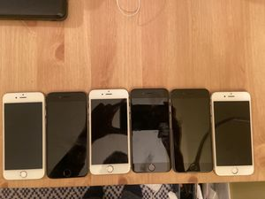 lot of 8 iPhone 6 for parts !!! for Sale in New York, NY