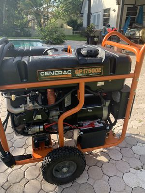 Generac generator 17,500 watts for Sale in Coral Springs, FL