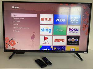 Vizio Tv + Roku Device for Sale in Farmville, VA