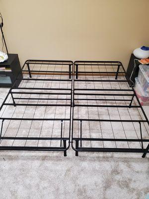 King size platform bed frame foldable for Sale in Lafayette, CO