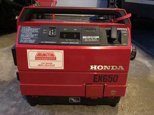 Honda EX650 generator for Sale in Buffalo Grove, IL