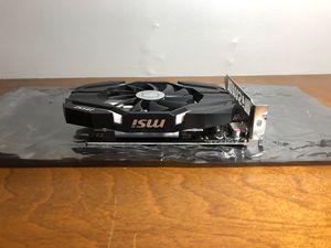 Msi GeForce GTX 1050 TI 4 GB OC for Sale in Lawrence, KS