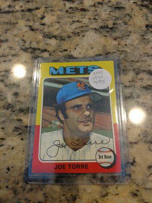 1975 Topps Joe Torre Baseball Card for Sale in Land O' Lakes, FL