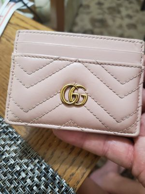 women Gucci card wallet hardly used quick sale for Sale in Laguna Beach, CA