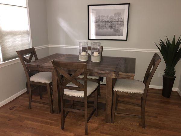 Ashley Designs Contemporary Dining Table