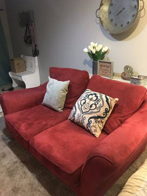 Red Sofa and Loveseat for Sale in Tempe, AZ