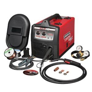 Lincoln Electric Easy MIG 140 Flux-Cored/MIG Welder - Transformer, 115V, 30-140 Amp Output, ModelK2697-1 for Sale in San Antonio, TX
