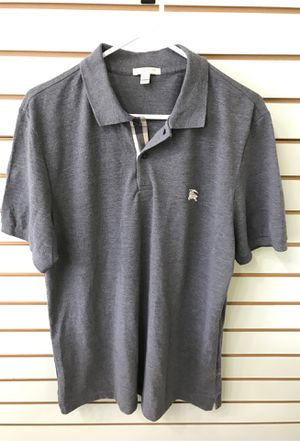 Burberry Brit Grey Polo shirt XXl for Sale in Tampa, FL