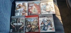 PS3 games for Sale in Pueblo, CO