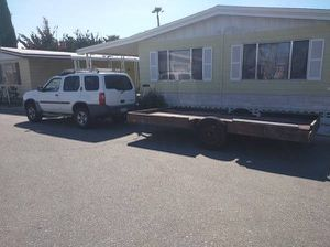 13ft. CUSTOM UTILITY FLAT BED TRAILER for Sale in San Diego, CA