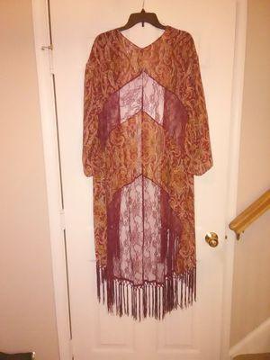 Shear Long Cardigan M/L for Sale in Manassas, VA
