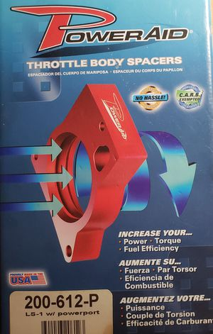 PowerAid Throttle Body Spacer # 200-612-P for Sale in Randleman, NC