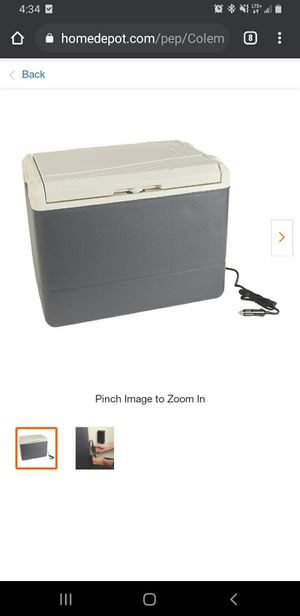 Coleman thermoelectric cooler for Sale in Naples, FL