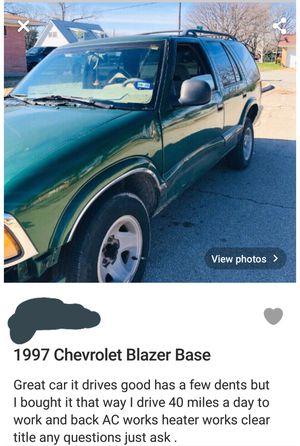 Chevy Blazer for Sale in Forest Hill, TX