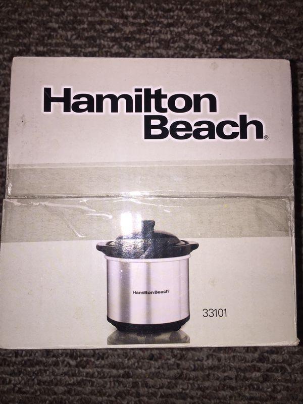 New HAMILTON BEACH Party Dipper, Food Warmer!