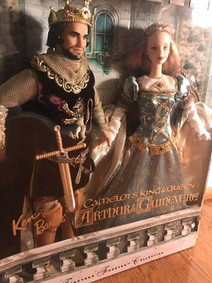 NEW 1999 Barbie Camelot's Arthur & Guinevere for Sale in Washington, DC