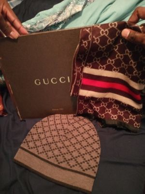 Gucci beanie and scarf for Sale in Slidell, LA