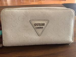 Guess (white) wallet for Sale in Santa Monica, CA