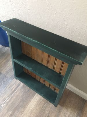 Shelves, spice racks and side, hall, entry table for Sale in Arvada, CO