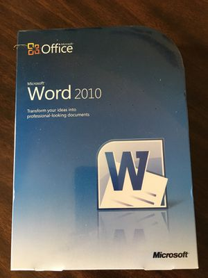 Microsoft Word 10 for Sale in Cleveland, OH