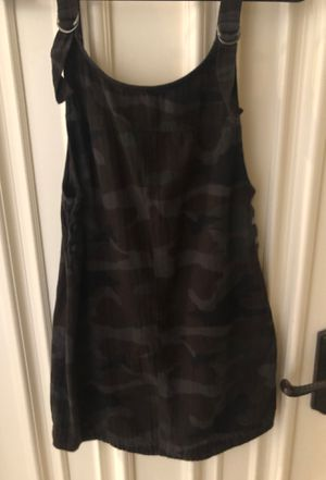 RVCA camp overall dress small for Sale in Menifee, CA